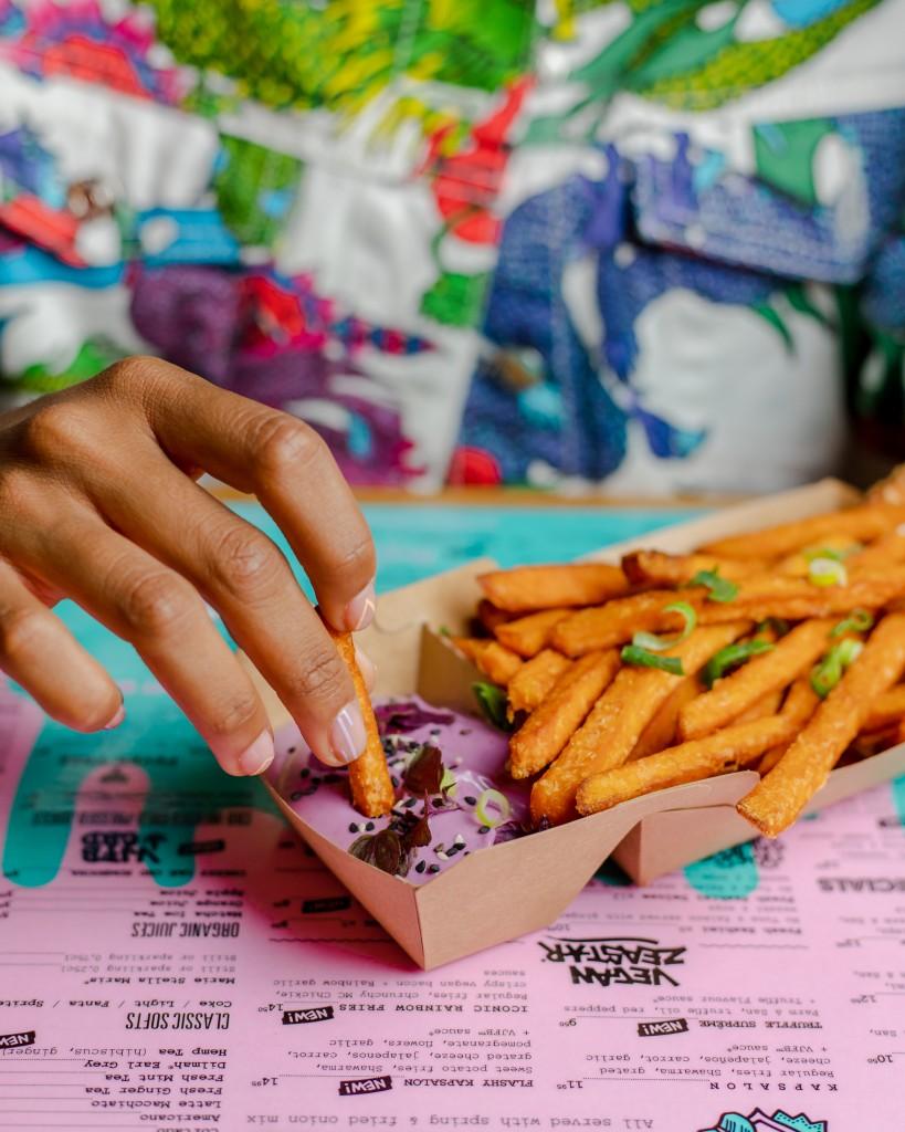 Zoete aardappel friet | Vegan |  Puur Suzanne