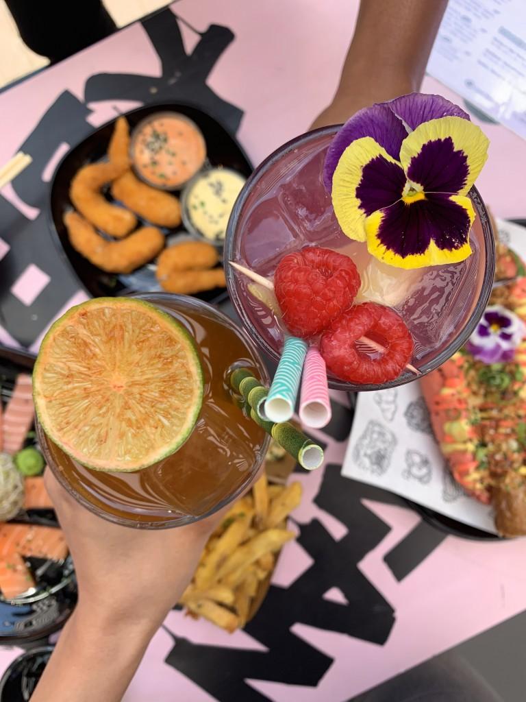 Drinks | vegan garnalen | hotspot Rotterdam | Puur Suzanne