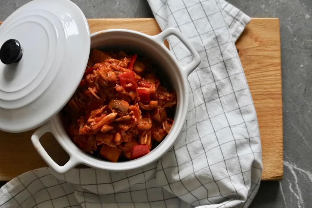 Stoofpot met jackfruit | vegan stoofpot | gezond recept | Puur Suzanne