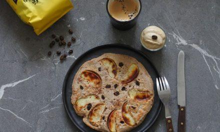 Boekweit pannenkoeken met koffieroom