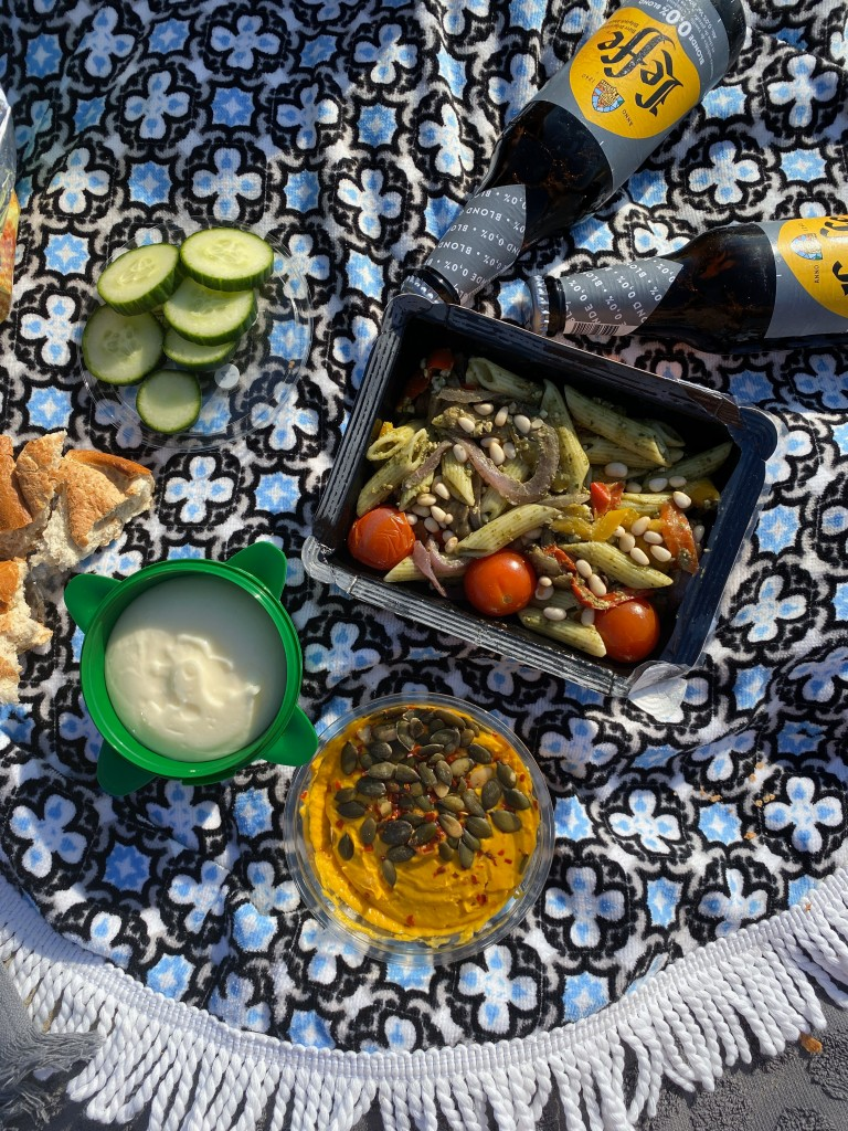vegan masters - pasta - puur suzanne - picknick