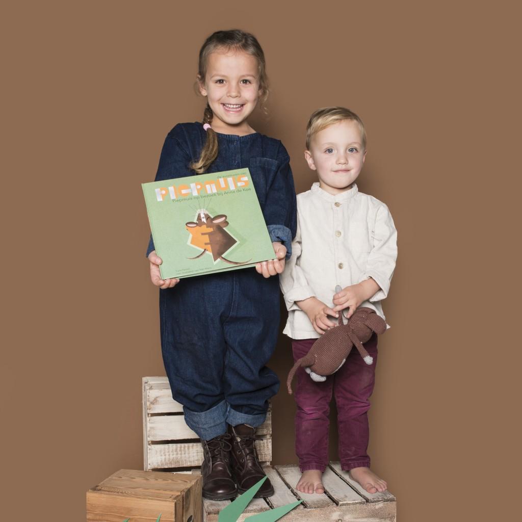 Kinderboek piepmuis