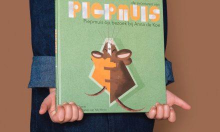 Kinderboek Piepmuis op bezoek bij Anna de koe