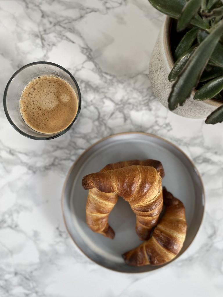 Croissant met hazelnoten | vegan croissants | mini croissant | Puur Suzanne
