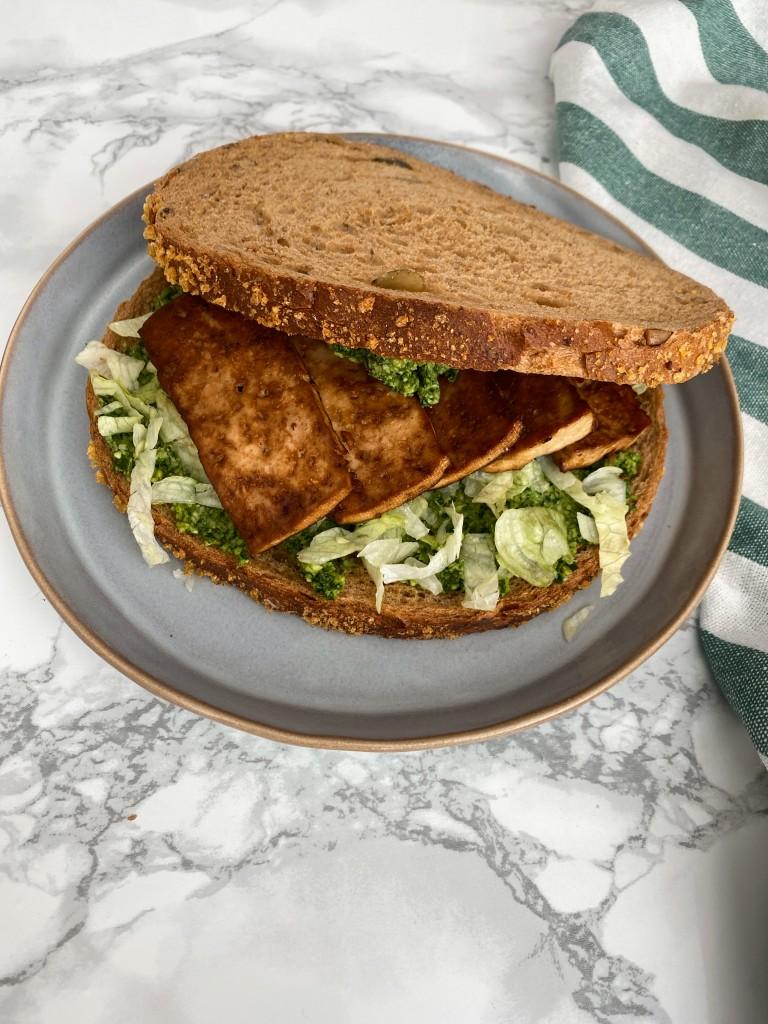 smoked tofu | vega lunch | vega en vegan broodbeleg | puur suzanne