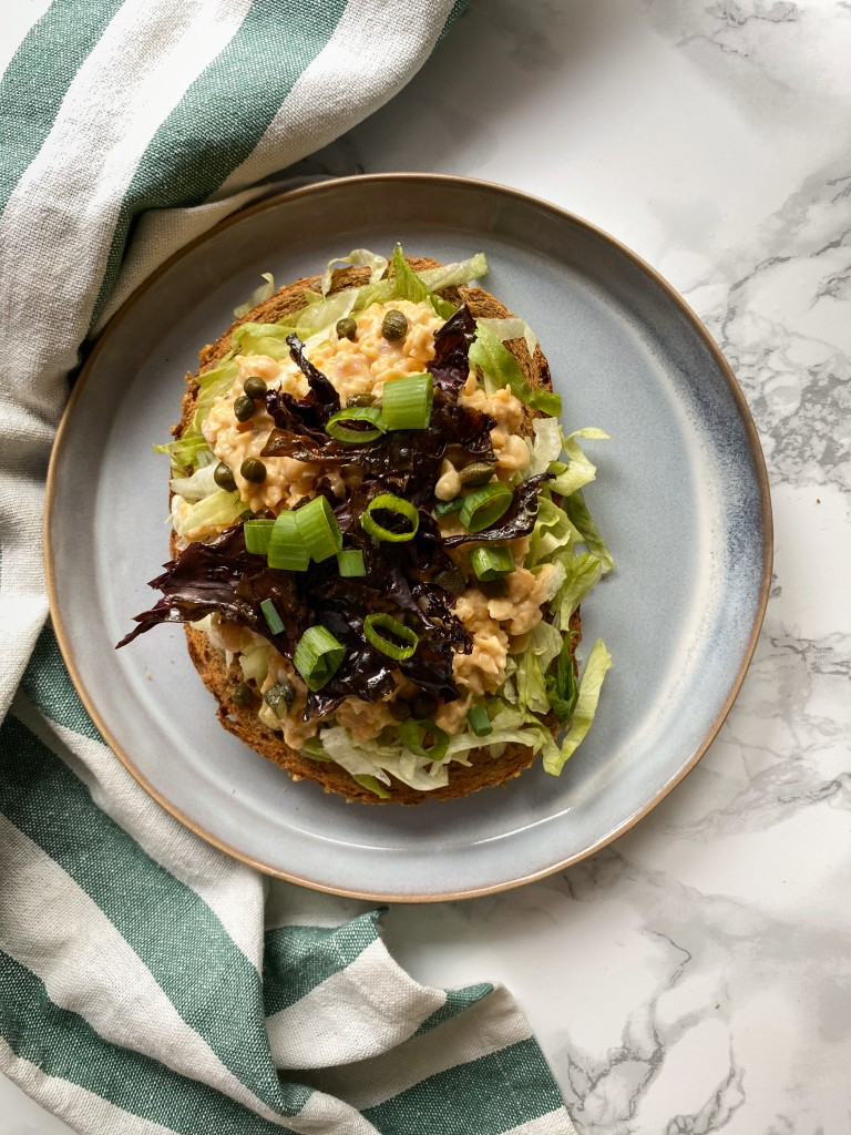 vegan tonijnsalade | vega en vegan broodbeleg | lunch | puur suzanne