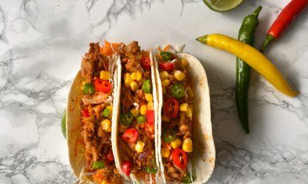 Taco's met pulled jackfruit
