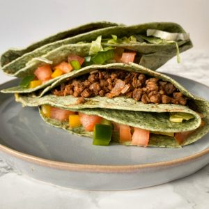 vegan quesadilla | vegan lunch | tiktok wrap | Puur Suzanne
