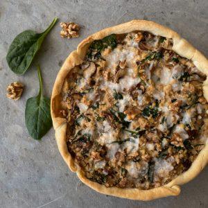 vegan quiche | vegan lunch | Puur Suzanne
