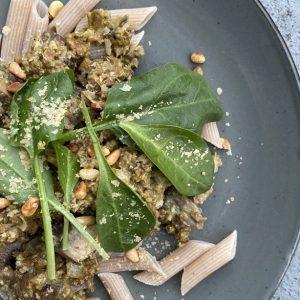 vegan pesto pasta | vegan pasta | Puur Suzanne