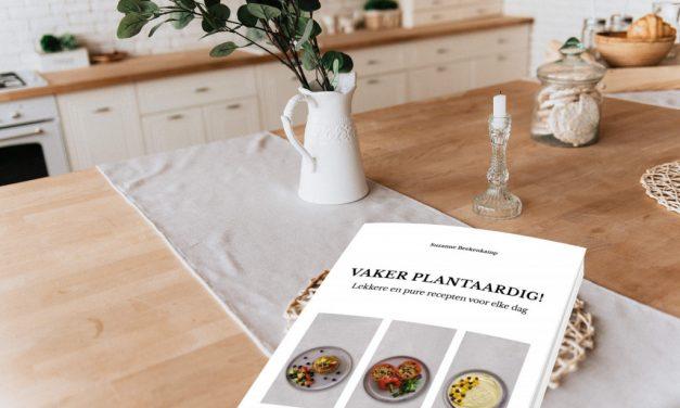 Groot nieuws! Mijn boek: Vaker plantaardig is vanaf nu te bestellen.